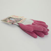 Gardening Gloves - Fuschia Size 8