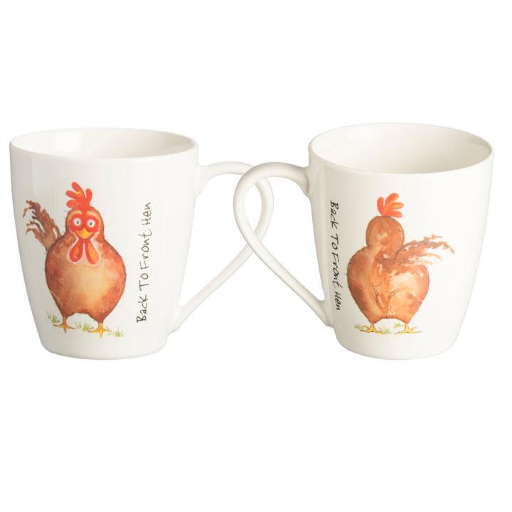 Price-Kensington Back to Front Hen Mugs