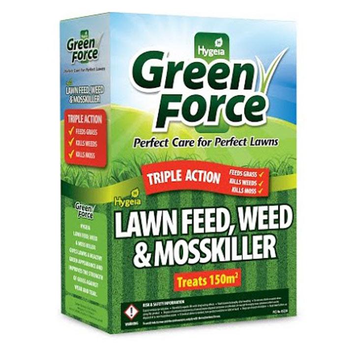 Greenforce Lawn Feed Weed & Moss Killer - 3kg