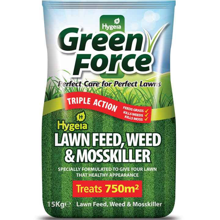 Greenforce Lawn Feed Weed & Moss Killer -15kg