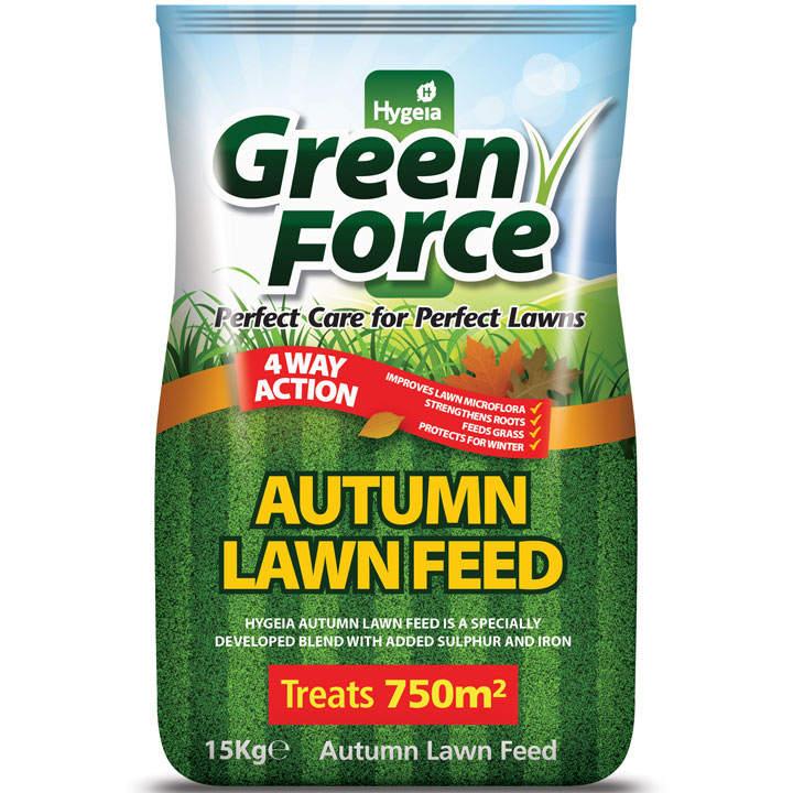 Greenforce Autumn Lawn Feed - 15kg