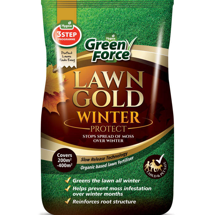Greenforce Lawn Gold - Winter Protect 200 to 400m²
