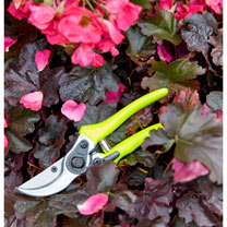 FloraBrite Bypass Secateurs & Harvesting Snip - Yellow