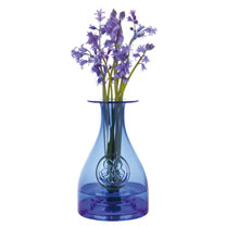 Flower Bottle - Cobalt