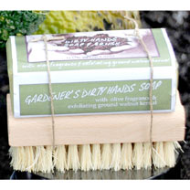 Dirty Hands Soap & Brush