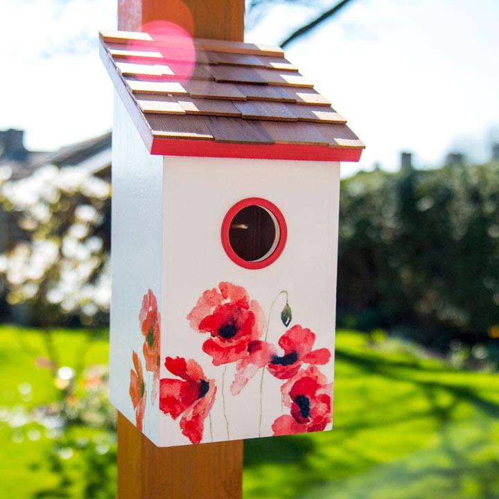 Birdhouse - Poppy