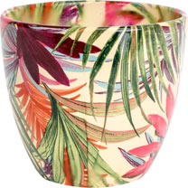 Tropical Planter - Fuchsia