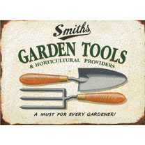 Metal Sign - Tools