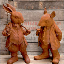 Mr Rabbit & Mr Ratty