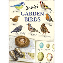 Metal Sign - British Garden Birds