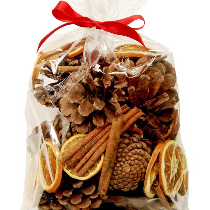 Cone, Orange and Cinnamon Bag