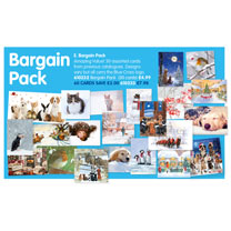 Blue Cross Bargain Christmas Card Pack