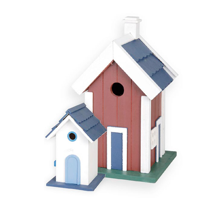 Shaker style bird house bird houses wildlife gifts for Bird house styles