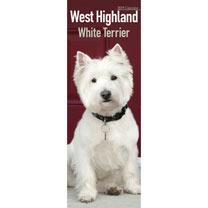 Slimline 2018  Calendar - West Highland White Terrier