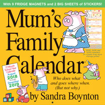 Image of Calendar - Mum's Family