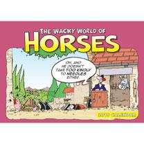 Image of Calendar - The Wacky World of Horses
