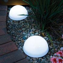 Image of LED Dome Solar Lights