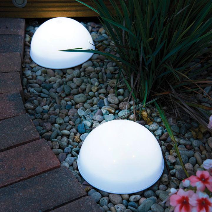 LED Dome Solar Lights