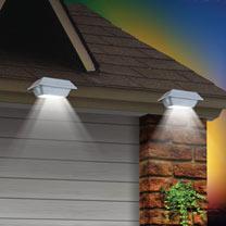 Image of LED Solar Gutter Lights (2)