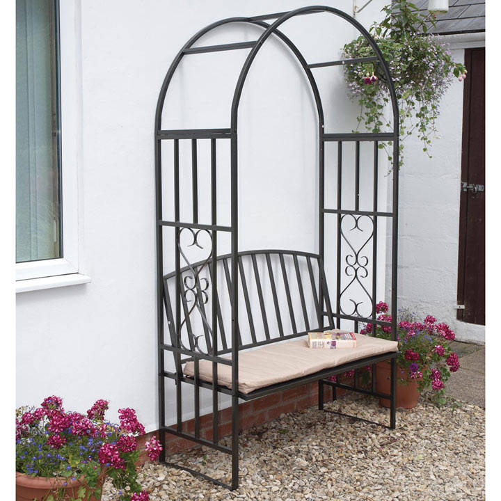 Arch, Bench & Cushion