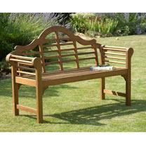 Lutyens Garden Bench - Natural