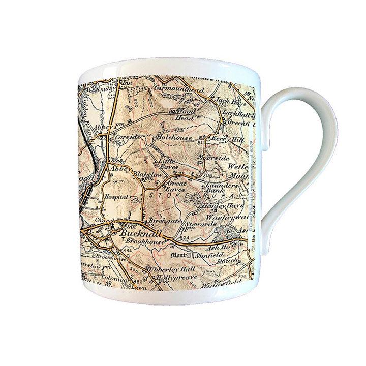 Map Mug - 1896-1904 Revised