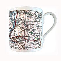 Map Mug - Popular Edition 1919-1926