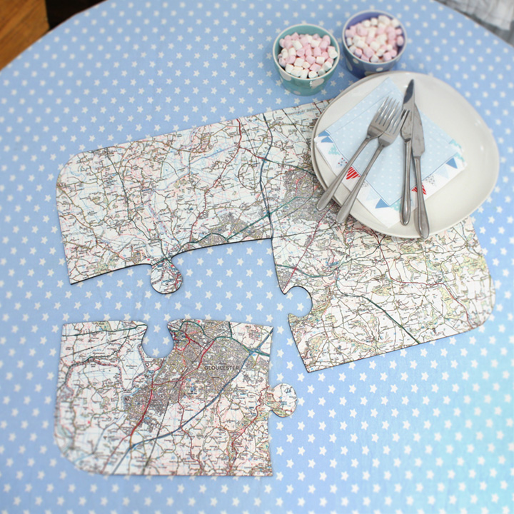 Map Jigsaw Placemats - Landranger