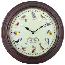 Image of Bird Sounds Clock