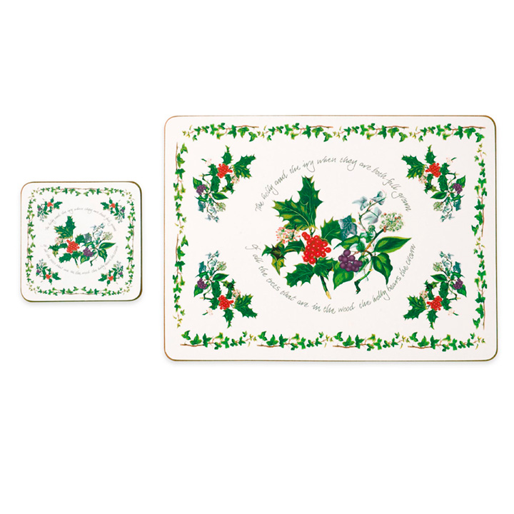 Holly & Ivy - Placemats & Condiments