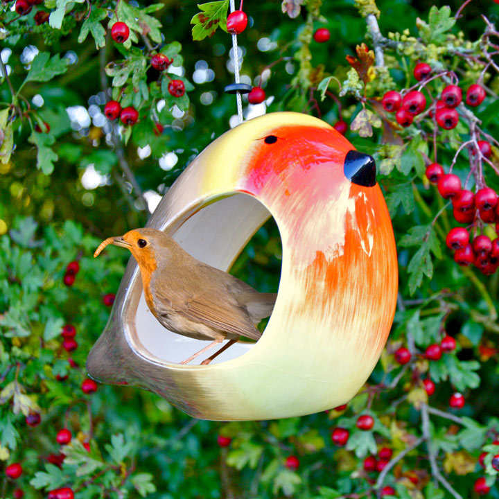 Ceramic Bird Feeders