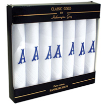 Gents Initial Hankies