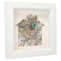 Personalised In The Frame - Ordnance Survey