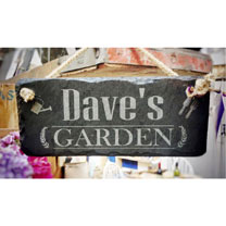 Personalised Garden Sign - Him