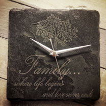 Image of Slate Family Clock
