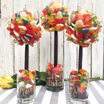 Personalised Haribo Sweet Tree