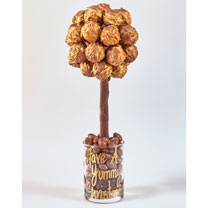 Personalised Belgian Truffle Sweet Tree