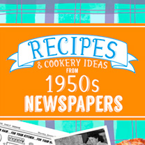 Image of 1950s Recipes Softback Book