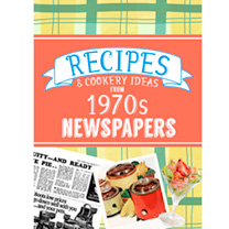 Image of 1970s Recipes Softback Book