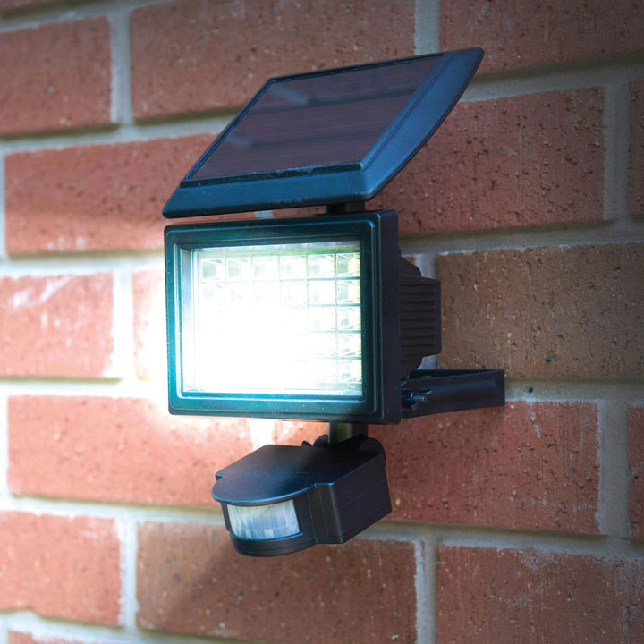 Best Outdoor Security Lights Uk: Solar Led Security Light