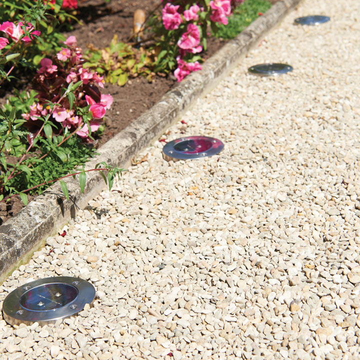 Solar Floor Lights