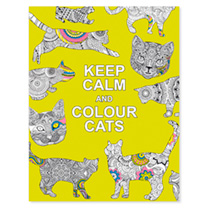 Soothe your stress and find relaxation with this charming collection of colouring patterns inspired by the flowing form and calming character of cats.