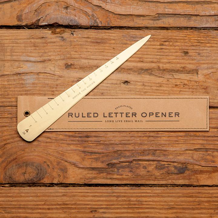 Ruled Letter Opener