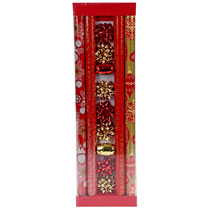 Roll Wrap Set - Red & Gold