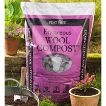 Image of Ericaceous Wool Compost - 30 Litres (2 Bags)