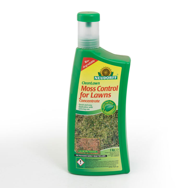 Clean Lawn Moss Control