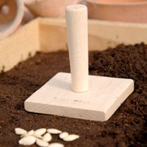 Beech Seed Tray Tamper - Square