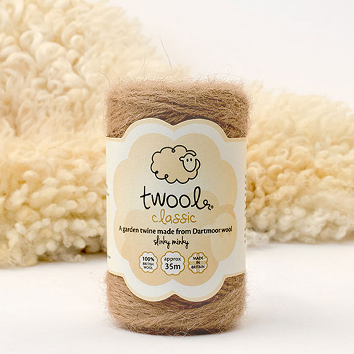 Twool Slinky Minky 35m Roll plus FREE packet of seed