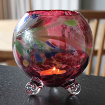 Candle Holder - Amethyst