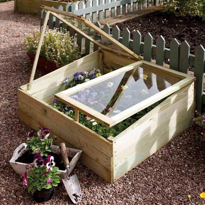 Timber Cold Frame - Dobies